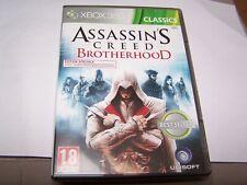 ASSASSIN S CREED BROTHERHOOD - VF -  XBOX 360