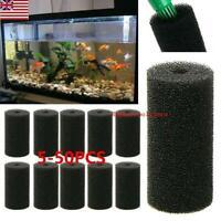 5-50pcs Replacement Compatible Pet Intake For Fish Tank Sponge Aquarium Filter