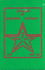 Journal of Popular Culture. Ed. Ray B. Browne Fall 1972, 447 p. Vol.VI, #2