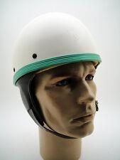 NOS PERFEKT Helmet VTG Motorcycle 60's Old Classic Half Motorbike Pudding Basin