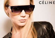 NEW Genuine CELINE Shadow Dark Green Blonde Havana Sunglasses CL 41026/S JAR Z3