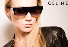 NEW Genuine CELINE Shadow Dark Green Blonde Havana Sunglasses CL 41026/S JAR Z3