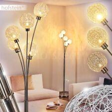 Loft Wohn Schlaf Zimmer Beleuchtung 5-flammige Steh Stand Boden Lampen dimmbar