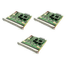 Lot of 3x Cisco WS-X6348 6000/6500 Series Ethernet Switch 48-Port(RJ45) 10/100