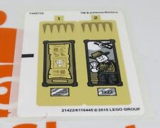 Lego Scooby-Doo 75900 Mummy Museum Mystery Sticker Sheet New