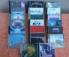 cd gruppo musicale RUSH 20 oggetti usati!!!