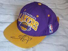 Cap LAKERS LOS ANGELES signed LAMAR ODOM basket casquette signée NBA