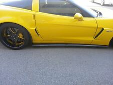Corvette C6 Carbon Fiber Side Skirts AND SPLITTER by CSC / Vette C6