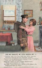 BAMFORTH COLOURED SONG CARD SET KISS ME GOOD-BYE NO 4897 UNUSED VERY GOOD J