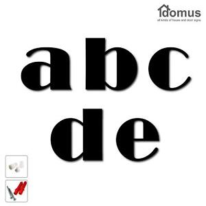 Floating House Number Letter a, b, c, d or e | 3 Sizes & 16 Colours available