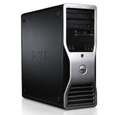 Dell Precision T3500 Workstation Intel Xeon 4x 2,8GHz 6GB RAM 147GB HDD NVIDIA