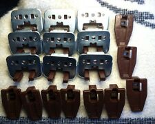 9 Kenlin Rite-Trak Dresser Drawer Guide Glide w/ Metal Bracket & Stop Prime Line