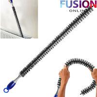 Flexible Radiator Brush Heater Heating Long Reach Bristle Dust Cleaning Cleaner