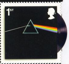 GB MNH STAMP 2016 PINK FLOYD DARK SIDE OF THE MOON ex MAXI SHEET SINGLE STAMP