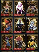 Topps Marvel Collect RED X-MEN BASE TIER 3 Complete 40-Card Set AWARD