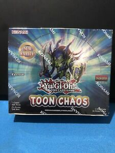 1ST EDITION ! Yu-Gi-Oh! TCG Toon Chaos Booster Box Factory Sealed - LAST ONE🎅🎄