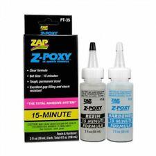 ZAP Glue - Z-Poxy 15 Minute Epoxy 4 oz. Set