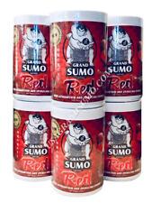 FLOWERHORN & CICHLID FISH FOOD - 6 X 550G GRAND SUMO RED (MEDIUM PELLETS)
