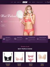 Établi Bikini BOUTIQUE rentables Dropship site web Business For Sale