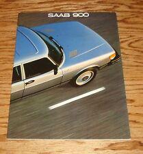 Original 1981 Saab 900 Sales Brochure 81 Turbo S
