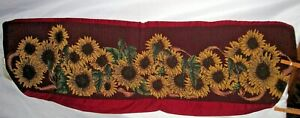 Sunflowers Empty Tapestry Fabric Pillow Shell - Cover