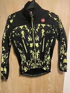 Castelli Digital Camo Winter Jersey Medium Gore Windstopper