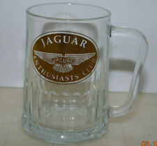 Jaguar Enthusiasts' Club Car Glass Beer Mug Broadstone Warren Boy Scout Squirrel
