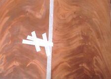 Mahogany Crotch Veneer,  2 ply Mahogany crotch, superior grain, bookmatched,