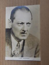 Film Star Postcard Singer Lionel Barrymore  Film Weekly 112. Real Photo unposted