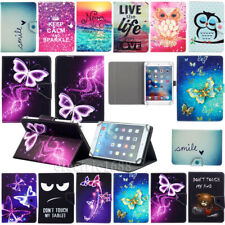"""US For 7"""" 7 inch Tab Android Tablets Universal Pattern Leather Case Cover Shell"""