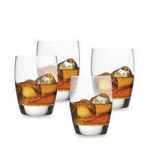 NEW Luigi Bormioli Masterpiece Large DOF Glasses Set of 4