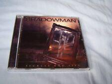 Shadowman - Secrets and Lies 2017 CD Melodic Hard Rock Steve Overland