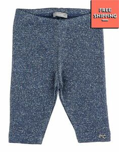 MICROBE By MISS GRANT Knitted Trousers Size 6M Lame Effect