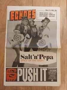 ECHOES MAGAZINE 19 MARCH 1988 SALT 'N' PEPA TAKE 6 MORRIS DAY BERES HAMMOND