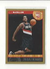 2013-14 Hoops Gold #270 C.J. McCollum RC Rookie Blazers