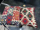 Pair of mid 20th Century Turkish Kelim Pillows