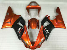 Injection Orange Black Plastic Kit Fairing Fit for Yamaha 2000 2001 YZF R1 a05