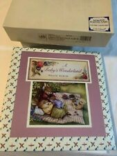 CR Gibson A Baby's Wonderland Photo Album 3 Ring Pocket Page 72 Photos NEW BOXED