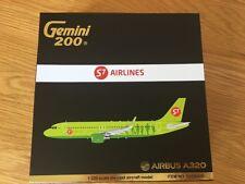 S7 Siberia AIRLINES Airbus A320 Diecast Metal Gemini 200 Model 1:200 G2SBI651