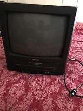 "TOSHIBA No. MV13M3 13"" TV VHS PLAYER VCR TAPE COMBO CRT GAMING COLOR TELEVISION"