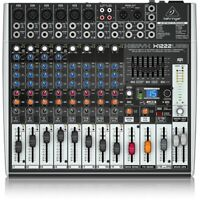 Behringer XENYX X1222USB 16-Channel Mixer with Effects