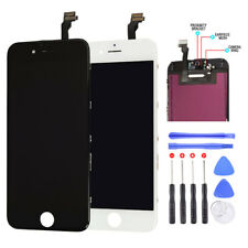 LCD Touch Screen Display Digitizer Assembly + Tools + Film For iPhone 6 Black