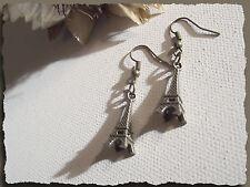 Boucles d'Oreilles Boutons pour couturier en métal Bronze * Cadeau petit prix
