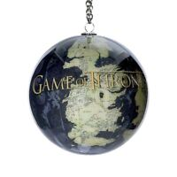 GAME OF THRONES Map of Westeros Globe Christmas Ball Ornament, by Kurt Adler
