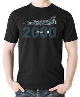 Flyingraphics aviation themed T Shirt 'Mirage 2000N'