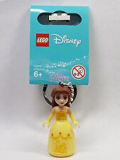 Brand New Lego - Belle Keyring (2018) - Disney Princess - 853782