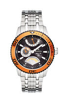 Bulova Marine Star Men's Quartz Date Indicator Silver-Tone 48mm Watch 98B112