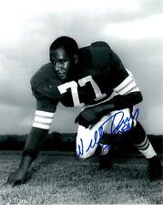 Signed 8x10 WILLIE DAVIS HOF Cleveland Browns  Autographed photo - w/COA