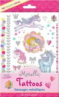 Coppenrath 13848 Metallic Tattoos Prinzessin Lillifee   NEU OVP-