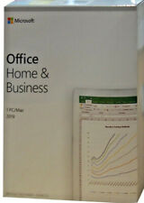 MS Office Home & Business 2019 | Box | Vollversion | Dauerlizenz | 1 PC/Mac | DE